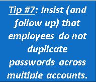 Protect Your Small Business Data Tip 7